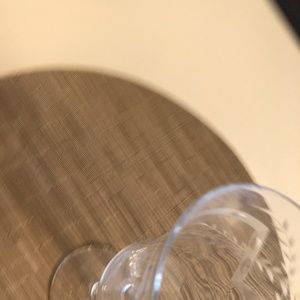 Unknown Dining - Etched Crystal Wine Glass